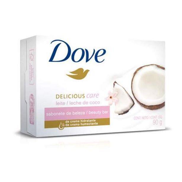 Oferta de Sabonete Dove Leite De Coco 90g por R$2,48