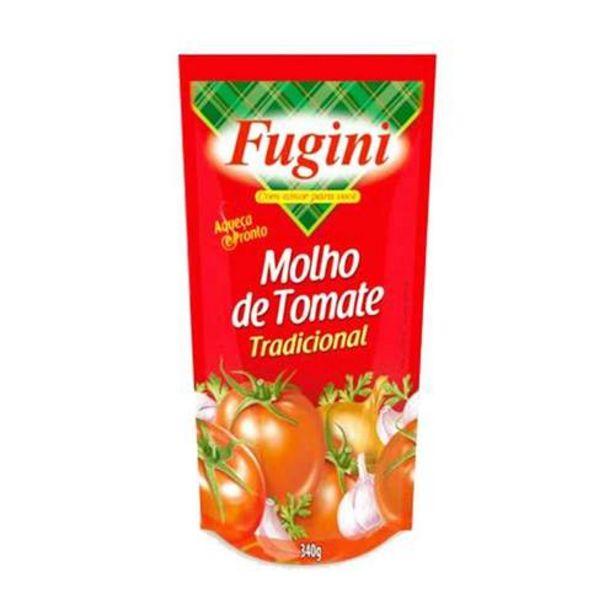 Oferta de Molho De Tomate Fugini Sachê 340g Tradicional por R$1,19