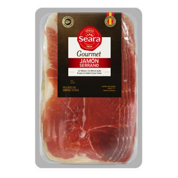 Oferta de Presunto Seara Serrano Gourmet Fat. 80g por R$14,98