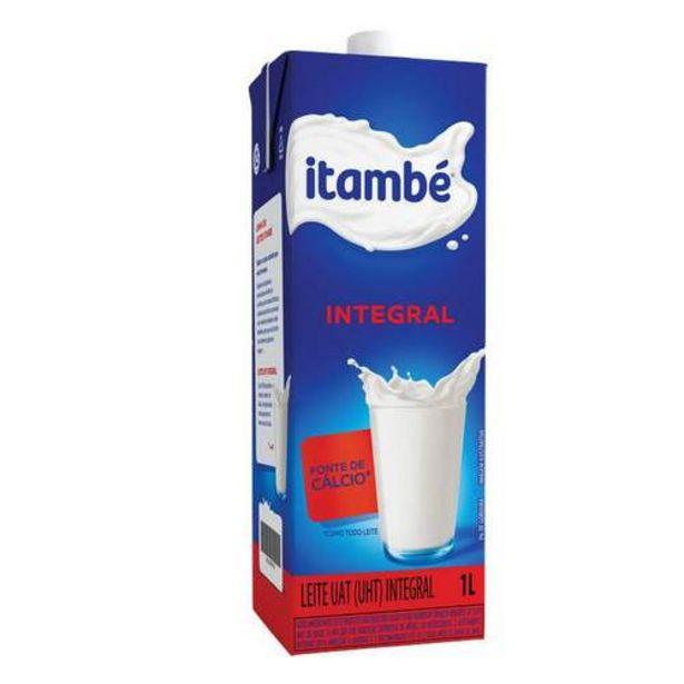 Oferta de Leite Itambé Integral 1l por R$3,69