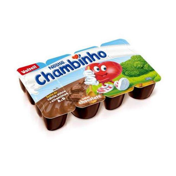 Oferta de Chambinho Chocolate 320g por R$6,99