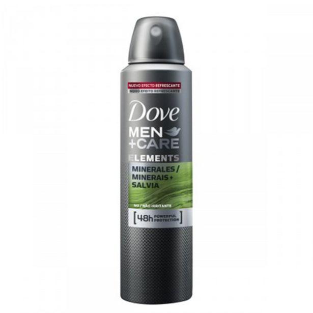Oferta de Desodorante Aerosol Dove 89g Minerais + Salvia por R$13,98
