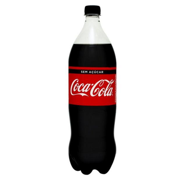 Oferta de Coca Cola Zero Pet 1,5l por R$4,99