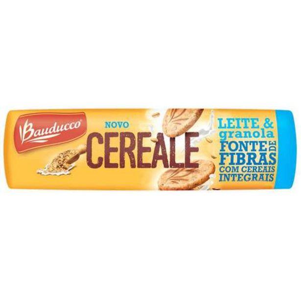 Oferta de Biscoito Bauducco Cereale Leite E Granola 165g por R$2,89
