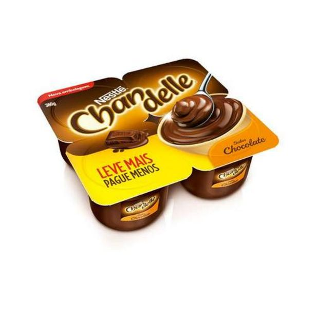 Oferta de Chandelle Nestlé Chocolate 360g por R$6,99
