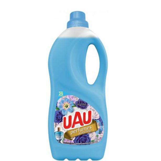 Oferta de Amaciante Uau 2lt Perf. Aconchego por R$6,49