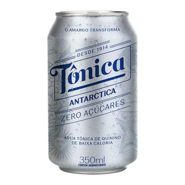 Oferta de Água Tônica Antarctica Zero Açúcar 350ml por R$2,98