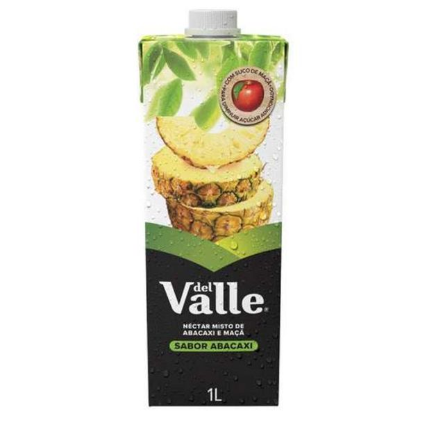 Oferta de Néctar Del Valle Mais Sabor Abacaxi 1l por R$5,79