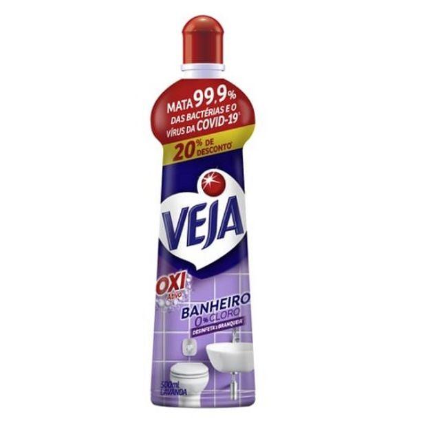 Oferta de Veja Banheiro 500ml Antibac Sqz 20% Desc.lavanda por R$7,99