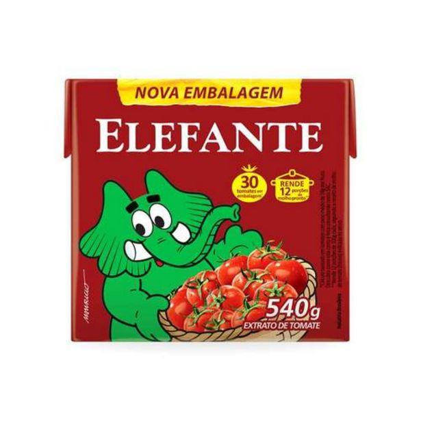 Oferta de Extrato Tomate Elefante 540g Tp por R$5,99