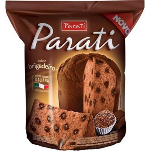 Oferta de Panettone Parati Brigadeiro Embalagem 450G por R$7,22