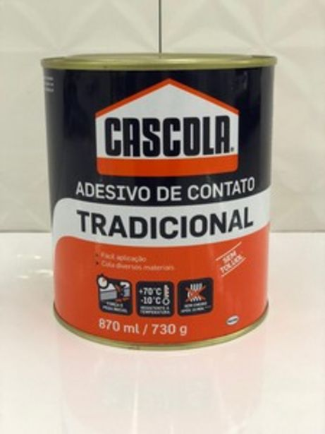 Oferta de COLA CONTATO CASCOLA 730G HENKEL por R$44,9
