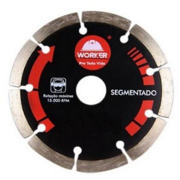 Oferta de DISCO DIAMANTADO SEGMENTADO 139521 WORKER por R$21,2