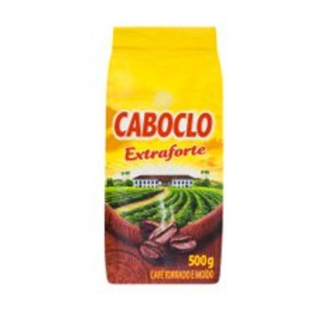 Oferta de Café Caboclo Extra Forte A Vácuo 500g por R$6,99
