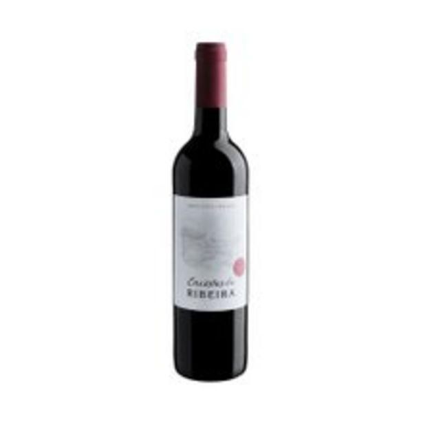 Oferta de Vinho Português Tinto Encostas Ribeiras 750ml por R$26,99