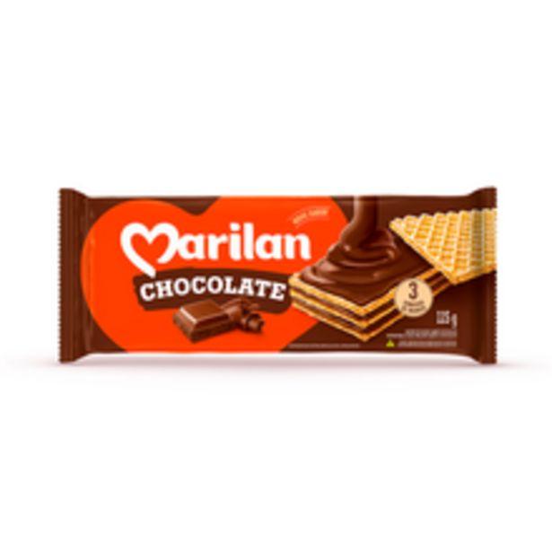 Oferta de Biscoito Marilan Wafer Chocolate 115g por R$1,99