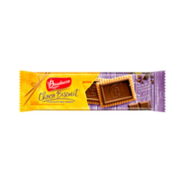 Oferta de Biscoito Bauducco Choco Biscuit Meio Amargo 80g por R$4,99