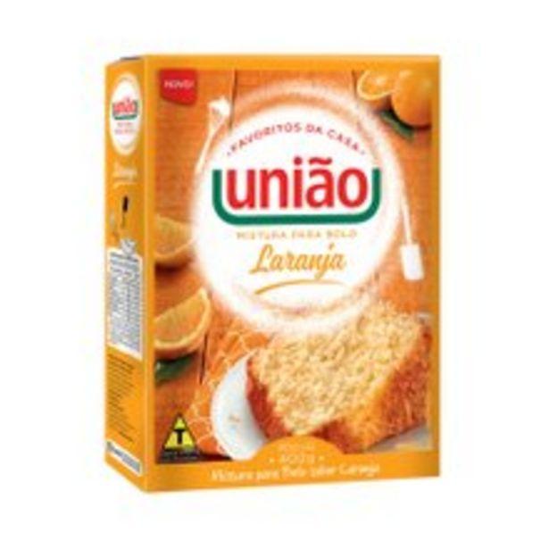 Oferta de Mistura Para Bolo União Laranja 400g por R$4,69