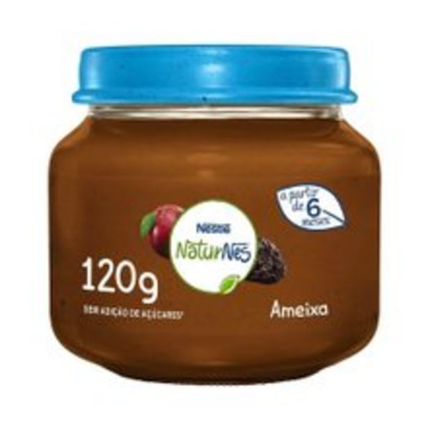 Oferta de Papinha Naturnes Nestlé Ameixa 120g por R$3,99