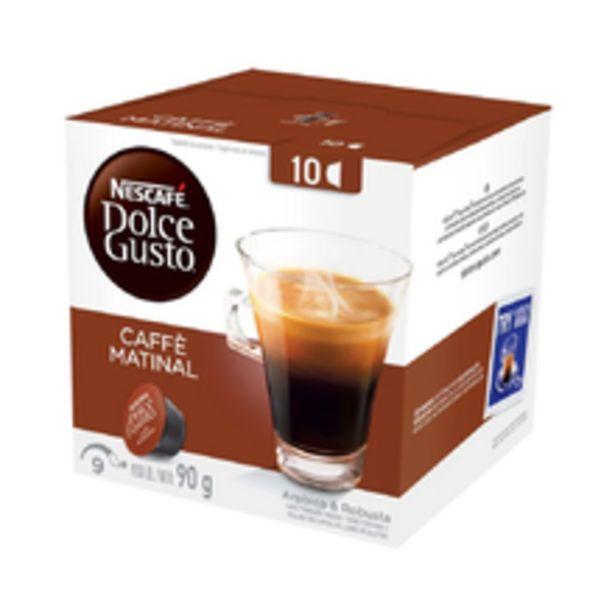 Oferta de Cápsula Dolce Gusto Com 10 Caffe Matinal 90g por R$14,9