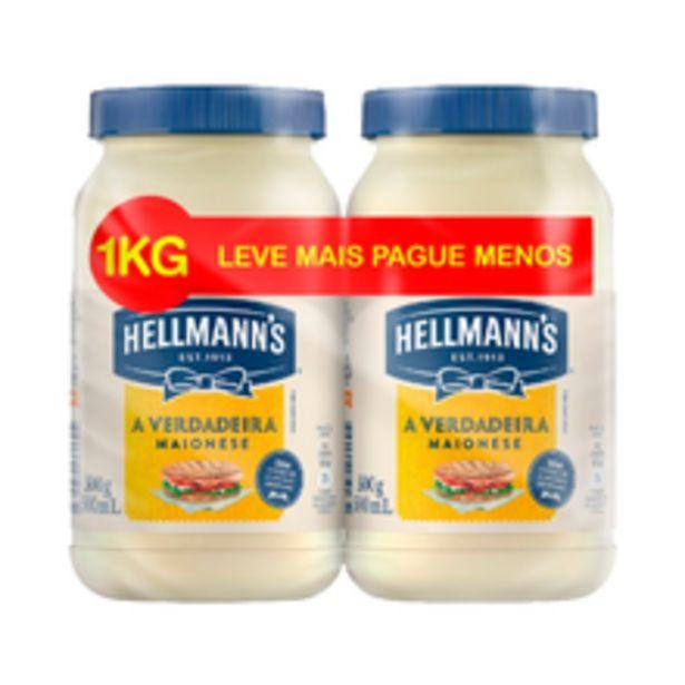 Oferta de Maionese Hellmann'S Com 2 Leve + Pague - 500g por R$11,99