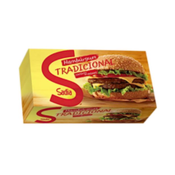 Oferta de Hambúrguer Bovino Sadia 672g por R$24,98