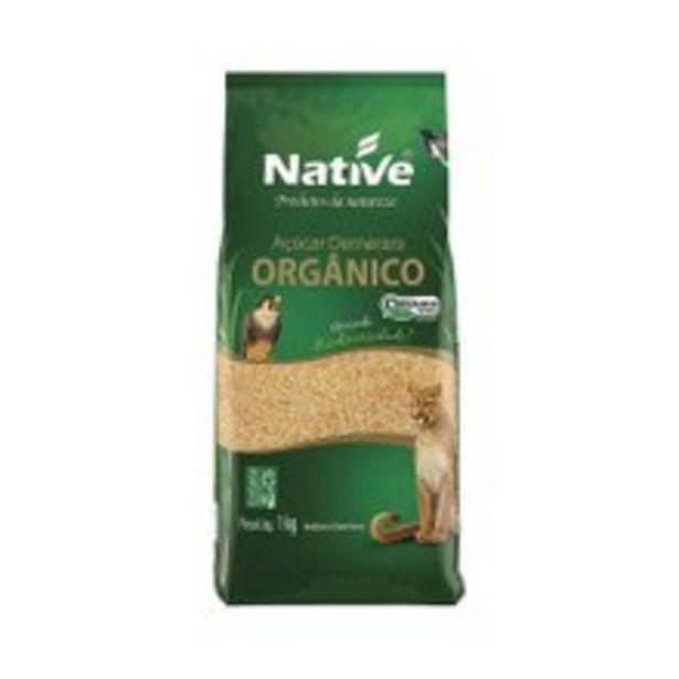 Oferta de Açúcar Demerara Native Orgânico 1kg por R$6,17