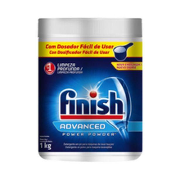 Oferta de Detergente Para Lava Louças Em Pó Finish 1kg por R$29,99