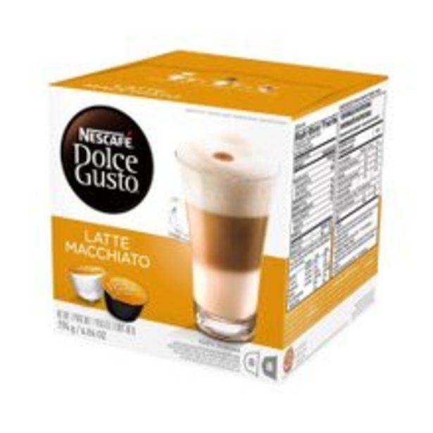 Oferta de Cápsula Dolce Gusto Latte Macchiato 194g Com 16 Unidades por R$22,9