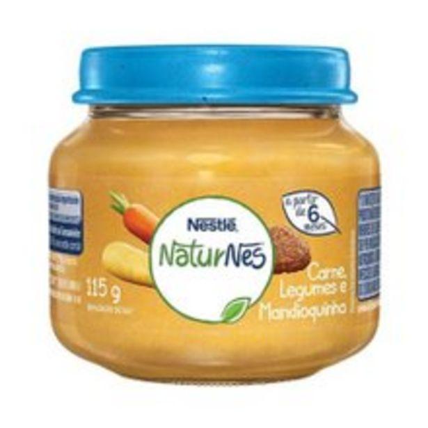 Oferta de Papinha Naturnes Nestlé Carne, Legumes e Mandioquinha 115g por R$3,99