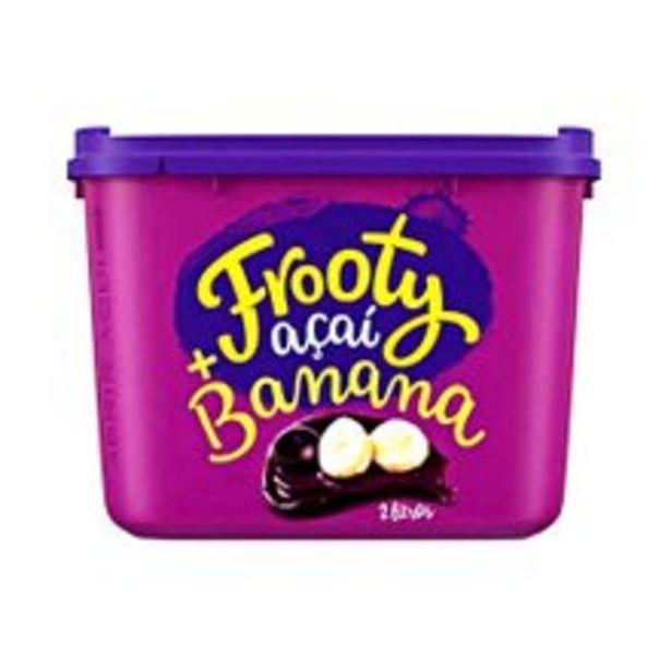 Oferta de Açaí Frooty Banana 2l por R$34,9