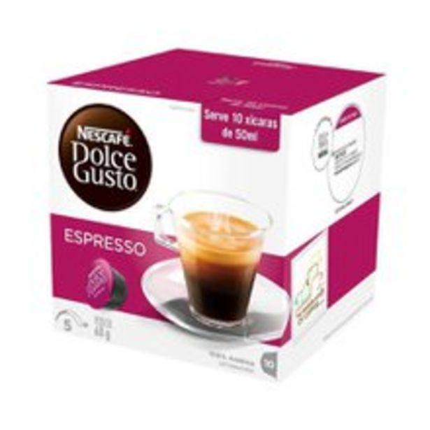 Oferta de Cápsula Dolce Gusto Com 10 Espresso 60g por R$14,9