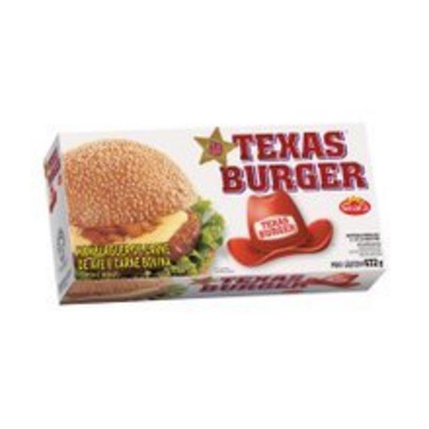 Oferta de Hambúrguer Bovino Texas Burguer 672g por R$17,49