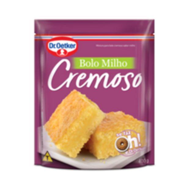 Oferta de Mistura Para Bolo Dr. Oetker Milho Cremoso Sachê 400g por R$3,98