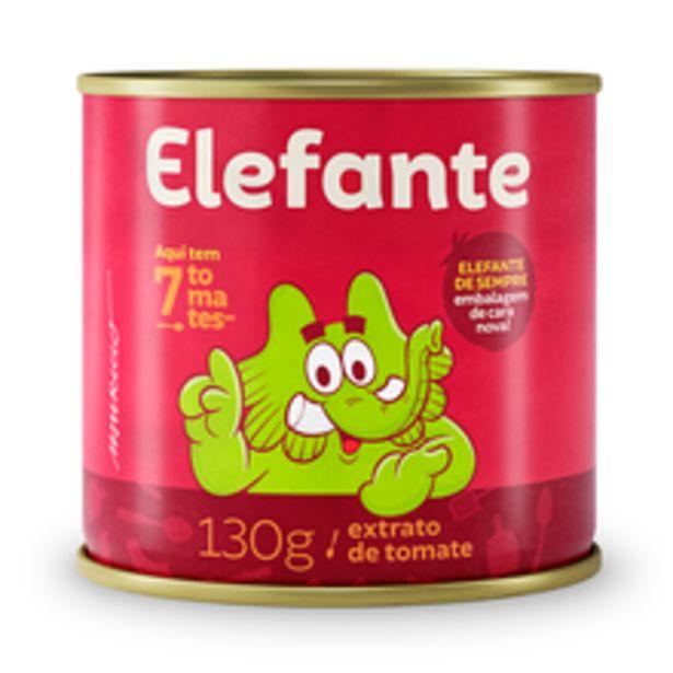 Oferta de Extrato de Tomate Elefante 130g por R$2,49