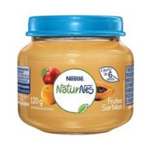 Oferta de Papinha Naturnes Nestlé Frutas Sortidas 120g por R$3,99