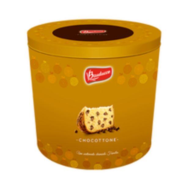 Oferta de Chocottone Bauducco Lata 750g por R$51,49