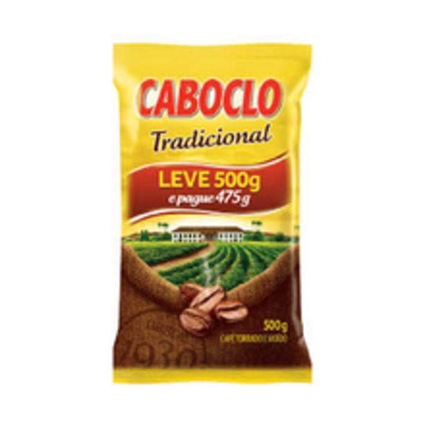 Oferta de Café Caboclo Tradicional Leve 500g Pague 475g por R$6,64