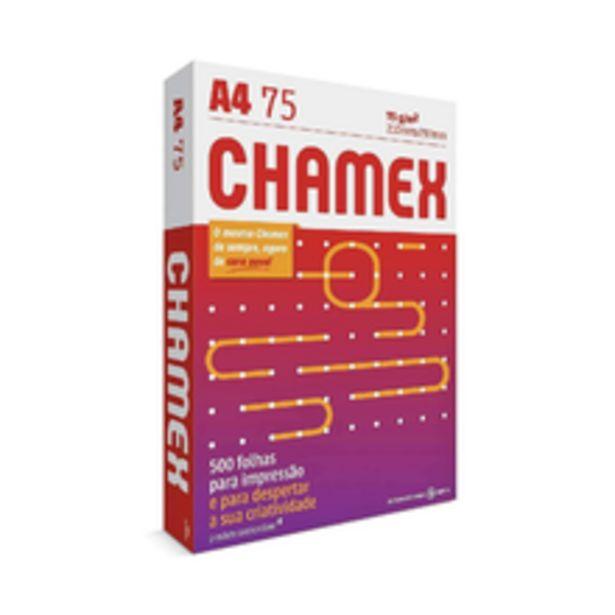 Oferta de Papel Sulfite Chamex Office A4 Com 500 Folhas por R$22,9