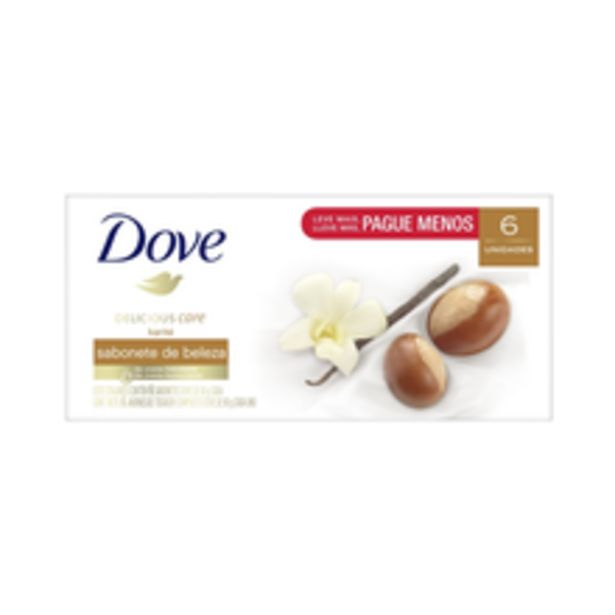 Oferta de Sabonete Dove Karité Baunilha 90g Com 6 Unidades por R$14,9