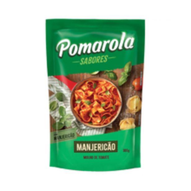 Oferta de Molho de Tomate Pomarola Manjericão 300g por R$3,19