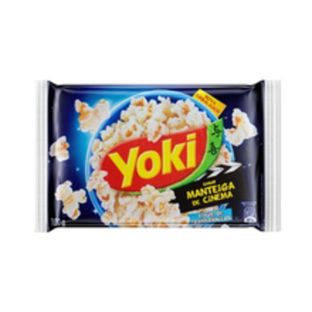 Oferta de Pipoca Para Microondas Yoki Manteiga de Cinema 100g por R$2,69