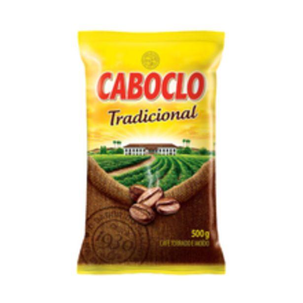 Oferta de Café Caboclo Tradicional 500g por R$9,9