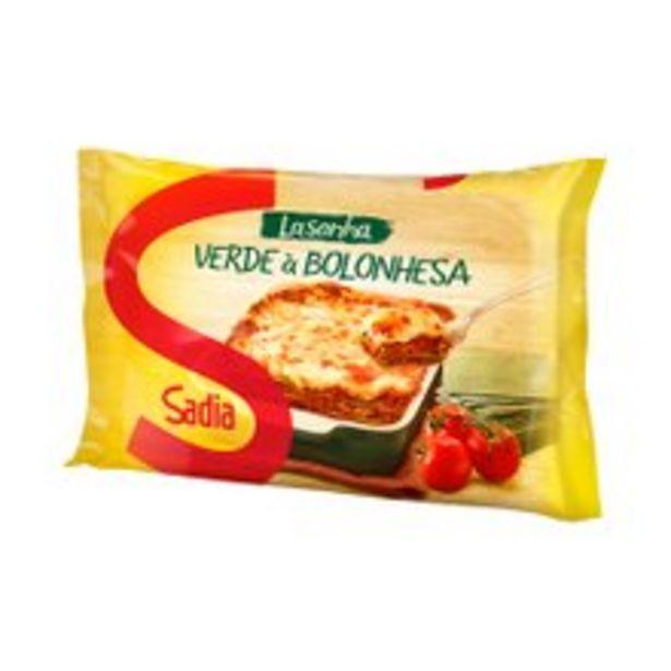 Oferta de Lasanha Sadia Verde 600g por R$11,98