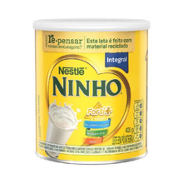 Oferta de Leite Em Pó Integral Ninho Forti+ 400g por R$17,09