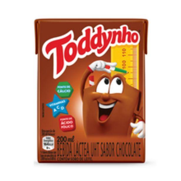 Oferta de Achocolatado Líquido Toddynho 200ml por R$2,48