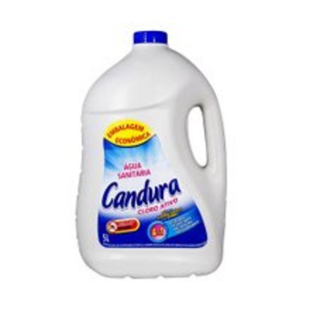 Oferta de Água Sanitária Candura 5l por R$8,9