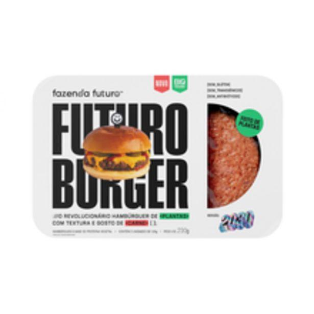 Oferta de Hambúrguer Vegetal Fazenda Futuro 230g por R$12,98