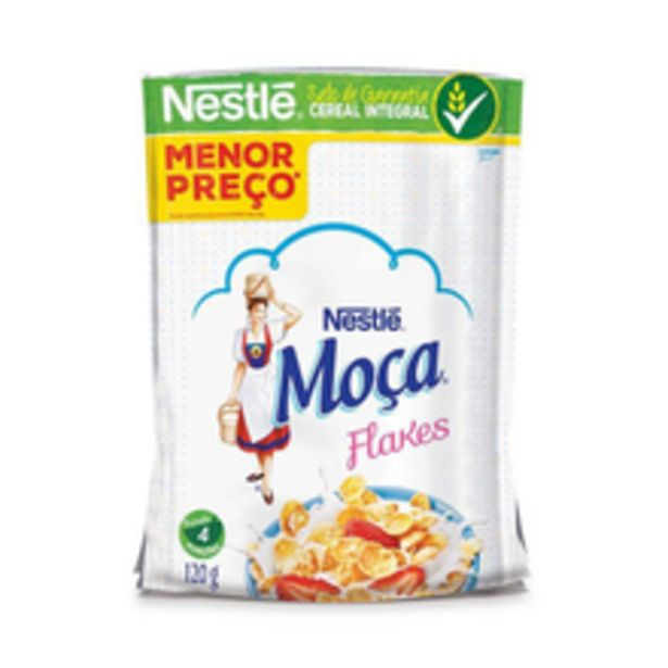 Oferta de Cereal Matinal Moça Flakes 120g por R$4,97