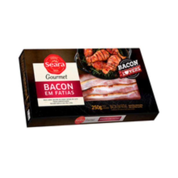 Oferta de Bacon Defumado Seara Fatiado 250g por R$19,98